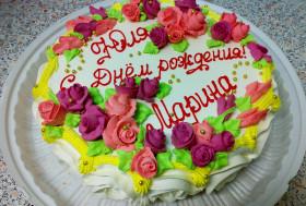 Торт для подруги