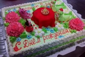Торт на 2 годика