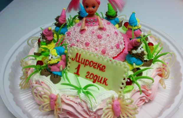 Торт на 1 год