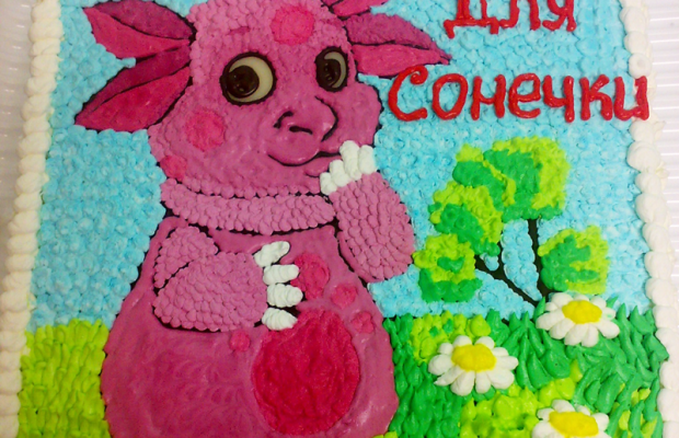 Торт «Лунтик»