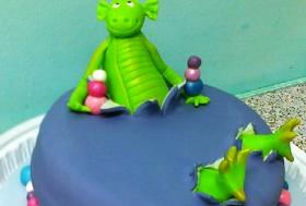 Торт «Динозаврик»