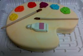 Торт «Палитра»