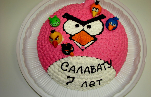 «Angry birds»
