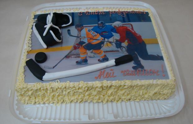 Торт хоккеиста