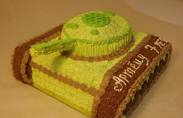 Торт «Танк»