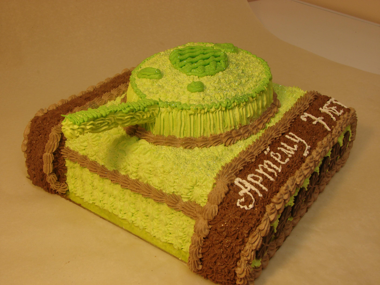 Как сделать торт танк пошагово с фото