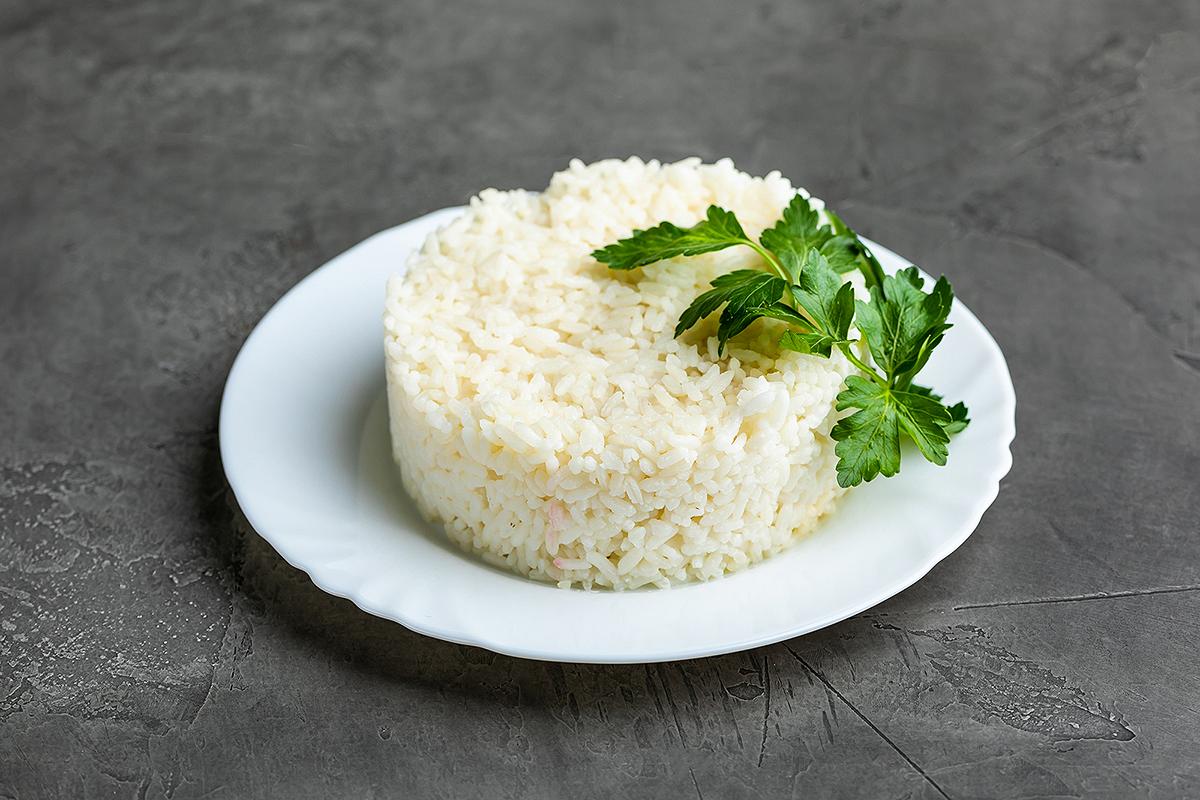 Рис отварной с маслом