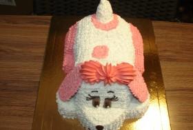 Торт «Собачка»